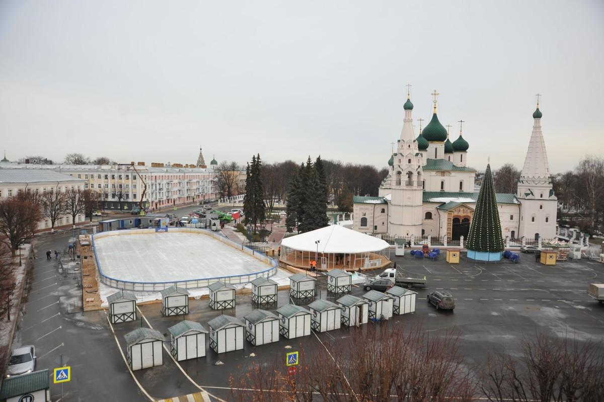 Нынешней зимой в Ярославле будут работать 33 катка и ледовые площадки