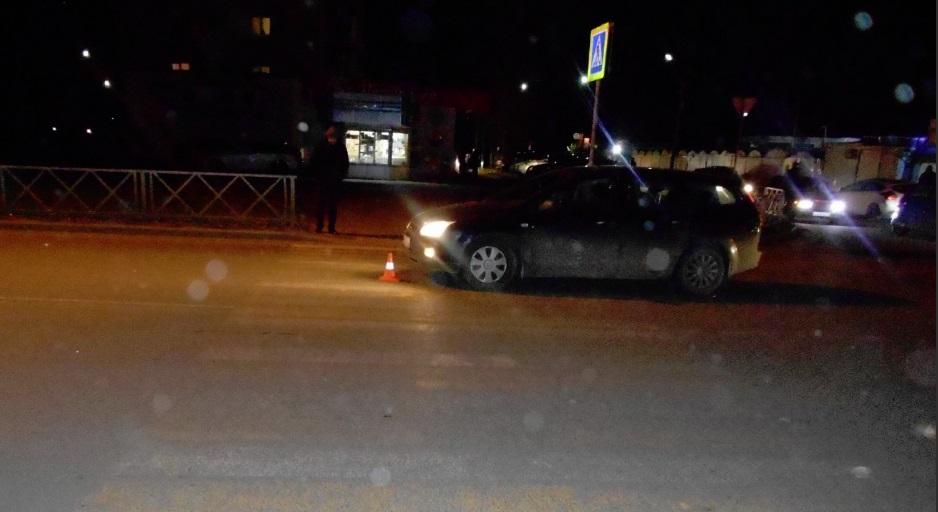 В Ярославле иномарка на «зебре» сбила пешехода