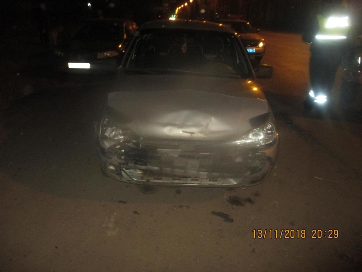 В Рыбинске пьяный водитель спровоцировал ДТП, в котором пострадал человек