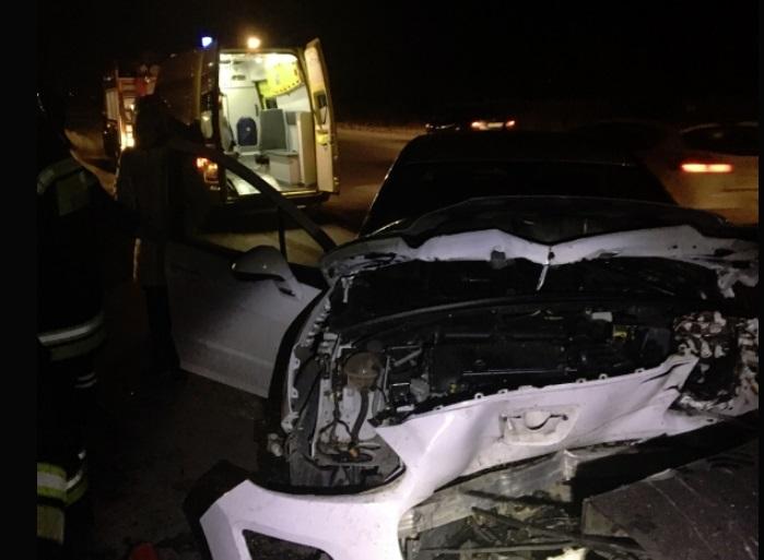 Два человека пострадали в ДТП на Промышленном шоссе в Ярославле