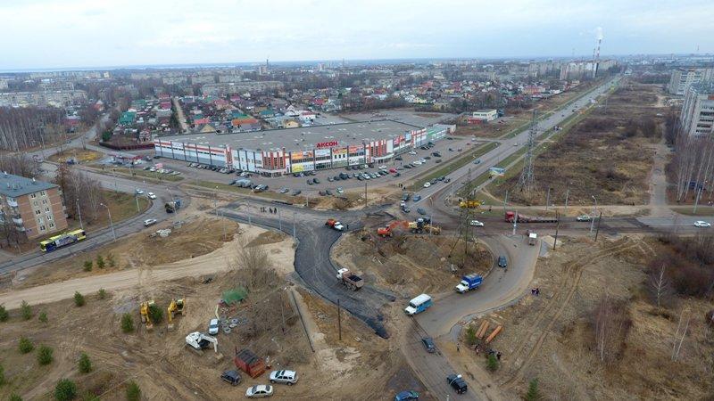 В Рыбинске после ремонта открыли участок дороги в районе ТЦ «Аксон»
