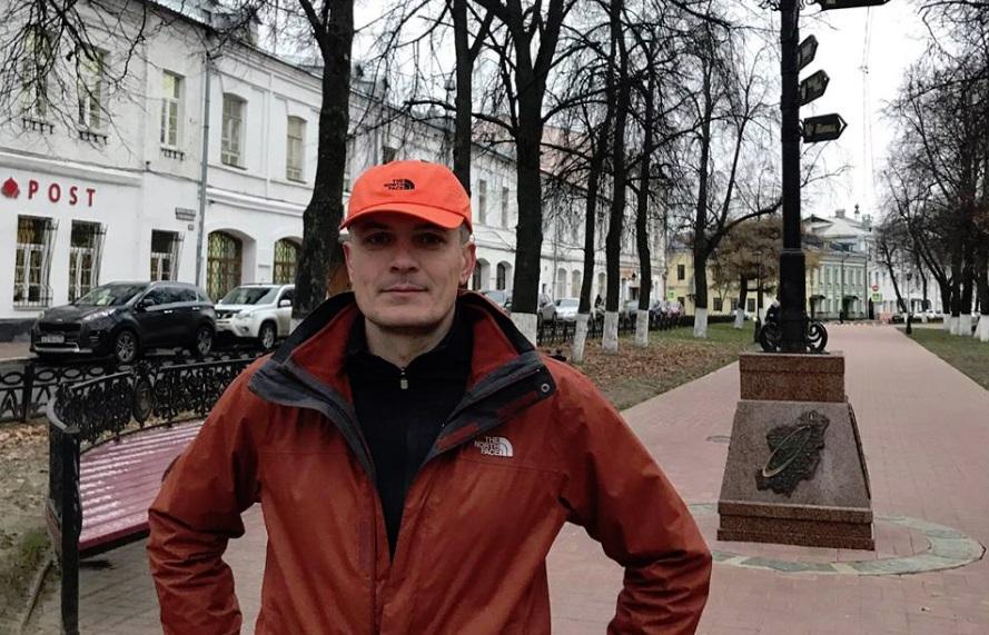 Известный ультрамарафонец установил еще один рекорд на маршруте Золотое кольцо России