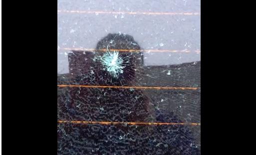 В центре Ярославля обстреляли автомобиль