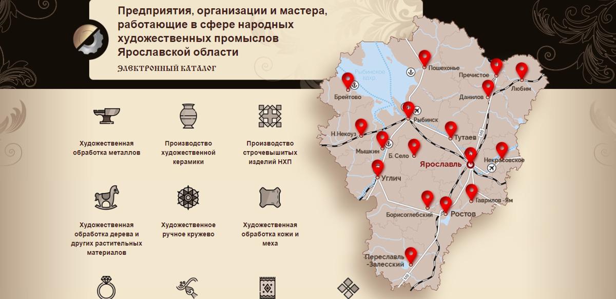 Создан региональный каталог организаций и мастеров народных художественных промыслов