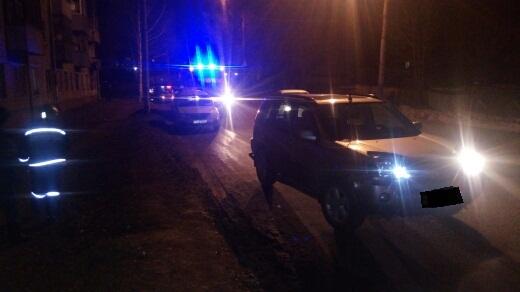 В Рыбинске иномарка под управлением пьяного водителя сбила пешехода