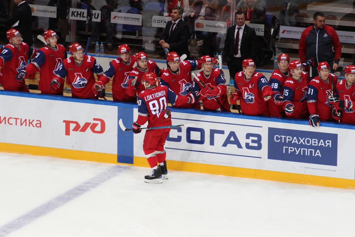 «Локомотив» на своем льду всухую обыграл «Динамо»