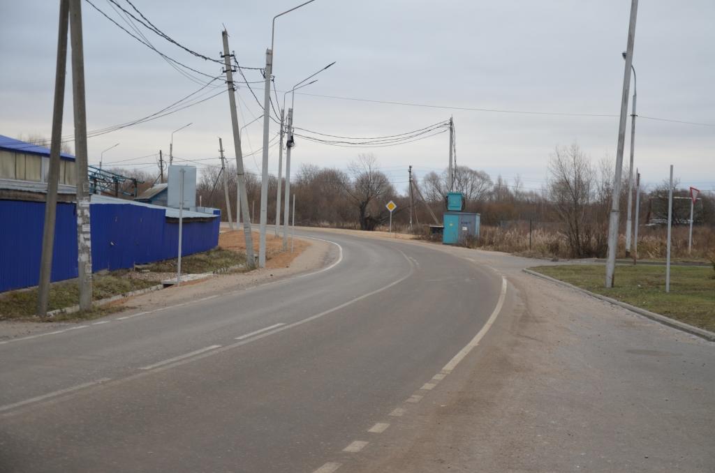 В Переславле-Залесском построена новая дорога – дублер участка трассы М8