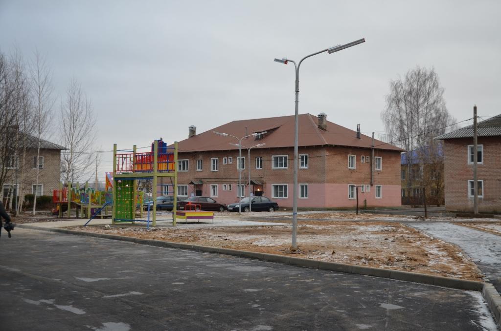 В Переславле-Залесском по программе «Решаем вместе!» благоустроен сквер «Утиные пруды»
