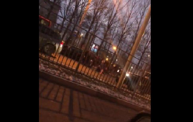 На Московском проспекте в Ярославле внедорожник сбил четырех пешеходов