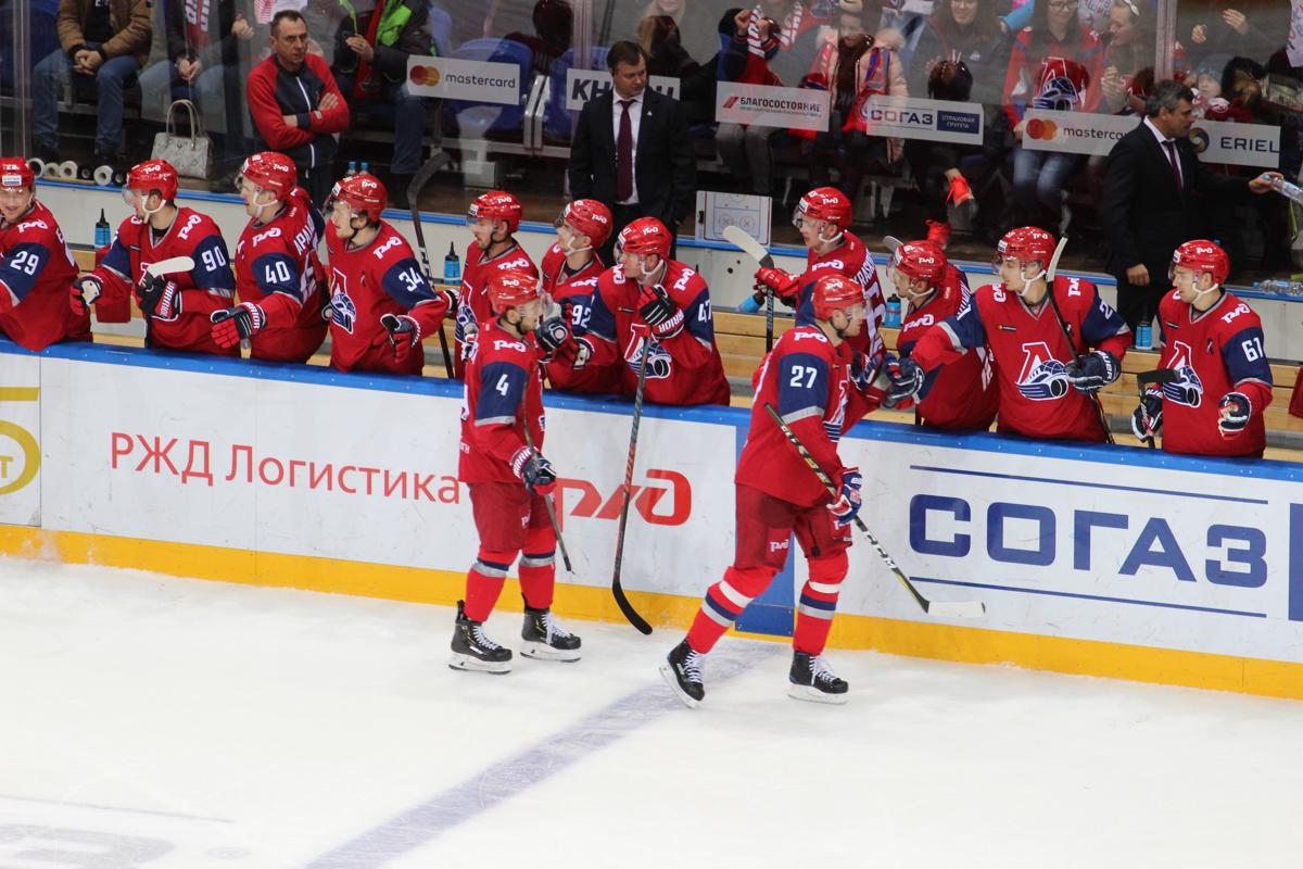 «Локомотив» обыграл «Барыс», отыграв по ходу матча разрыв в два гола