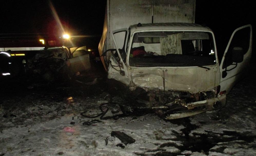 Два человека пострадали в крупном ДТП на трассе М8 в Ярославской области
