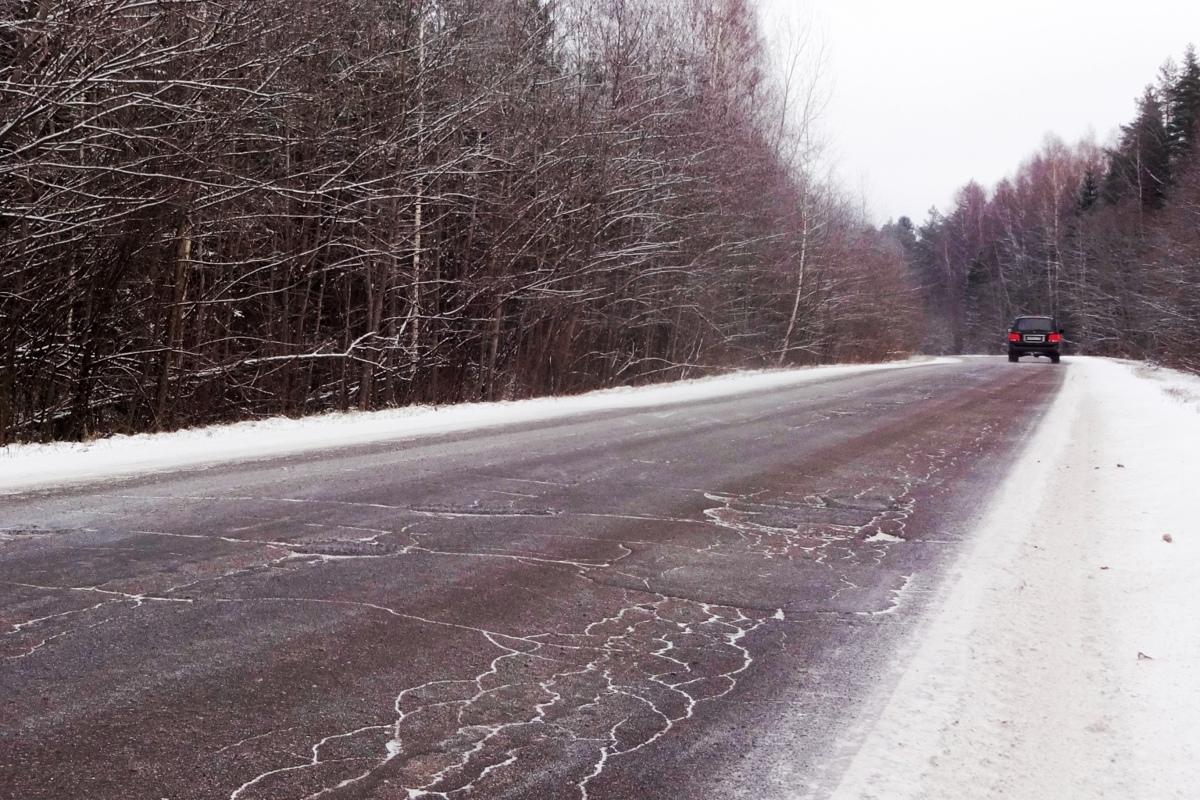 Трассу Рыбинск – Глебово отремонтируют в следующем году