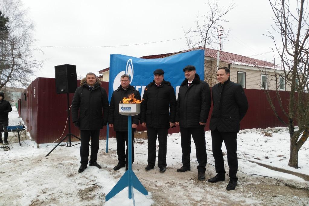 В несколько сел Ярославской области провели газ