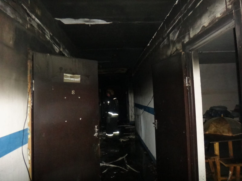 Пять человек пострадали при пожаре на производстве обуви под Ярославлем