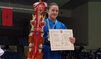 Ярославна стала чемпионкой мира по кудо