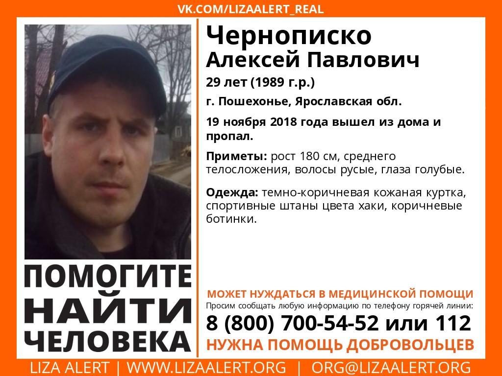 В Ярославской области полмесяца ищут 29-летнего мужчину