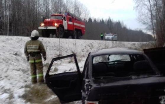 В Ярославской области пьяный водитель вылетел в кювет: двое пострадавших