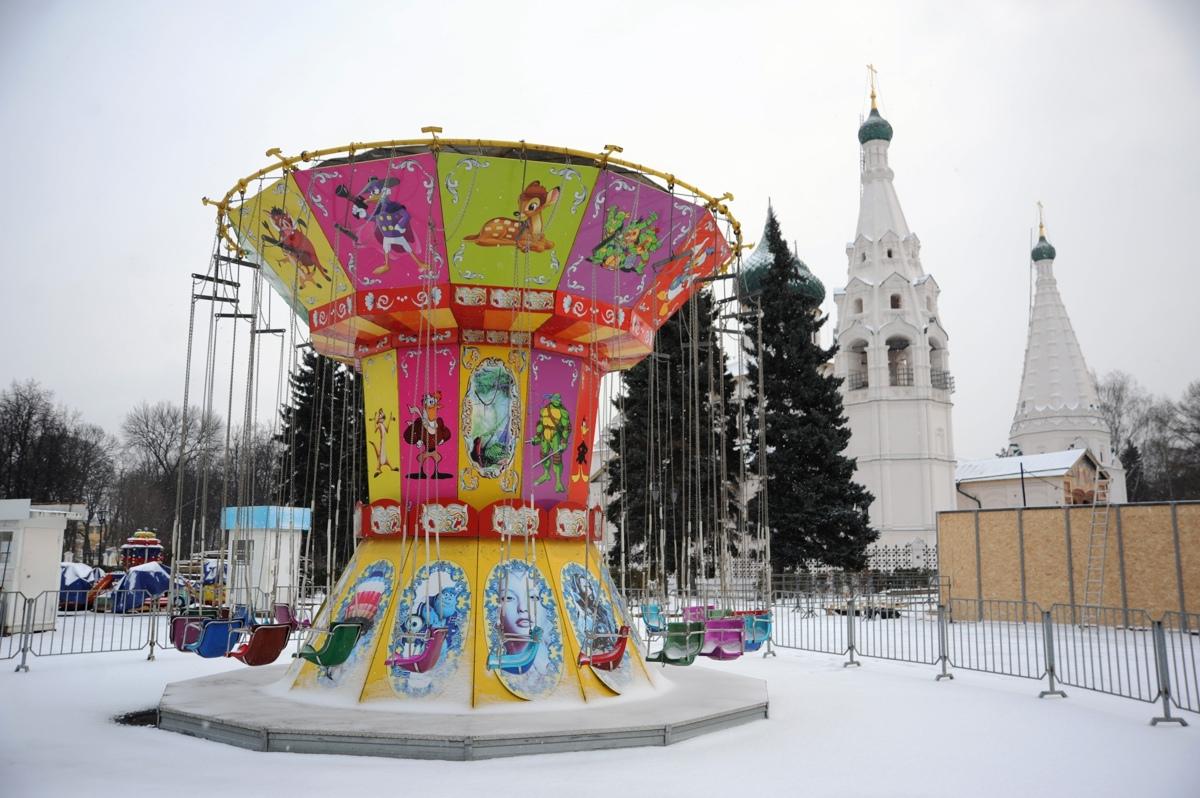 Дмитрий Миронов назвал дату открытия новогодней ярмарки в центре Ярославля
