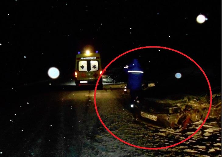Два человека пострадали в тройном ДТП на трассе М8 в Ярославской области