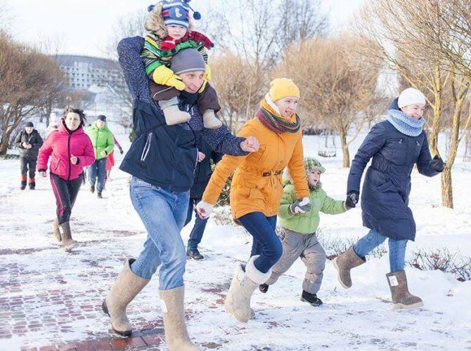 В Рыбинске состоится забег в валенках