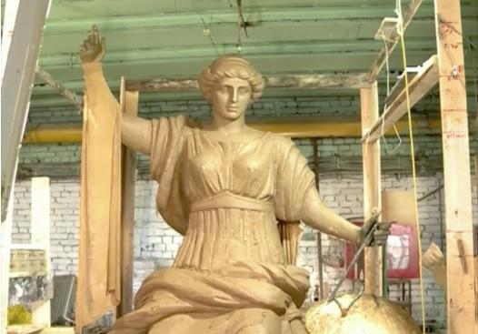 Одно из самых больших произведений ярославского скульптора установят в Краснодаре