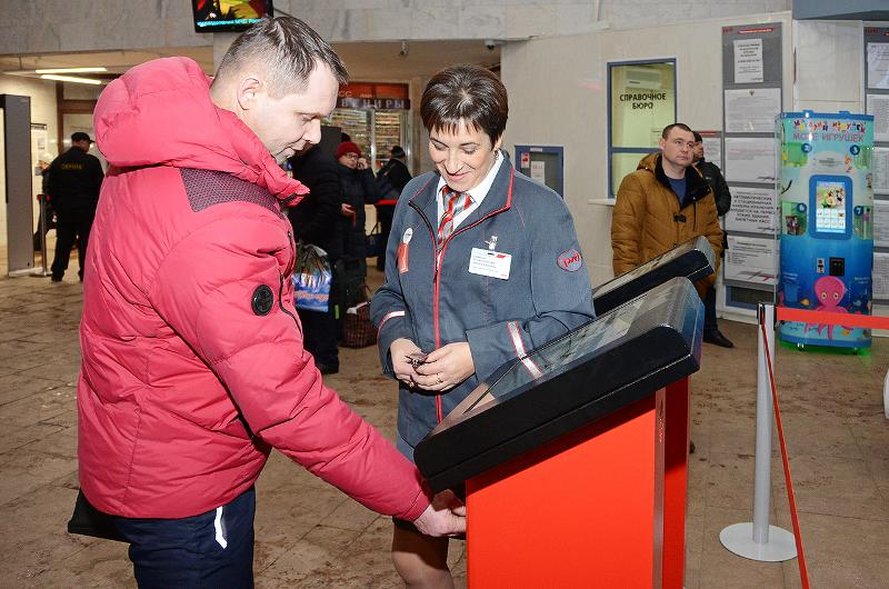 На вокзале Ярославль-Главный установили электронную очередь