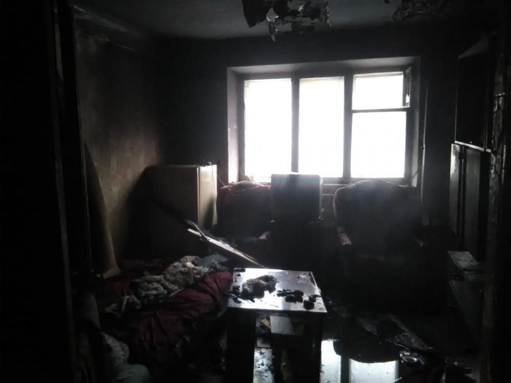 В Ярославской области при пожаре пострадал мужчина