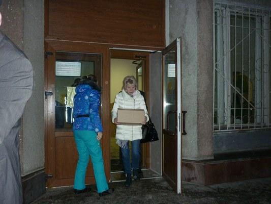 Рыбинцы отправили детям Донбасса новогодние подарки