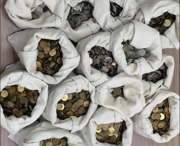 Во время акции по обмену мелочи в Ярославле собрали больше 51 тысячи монет