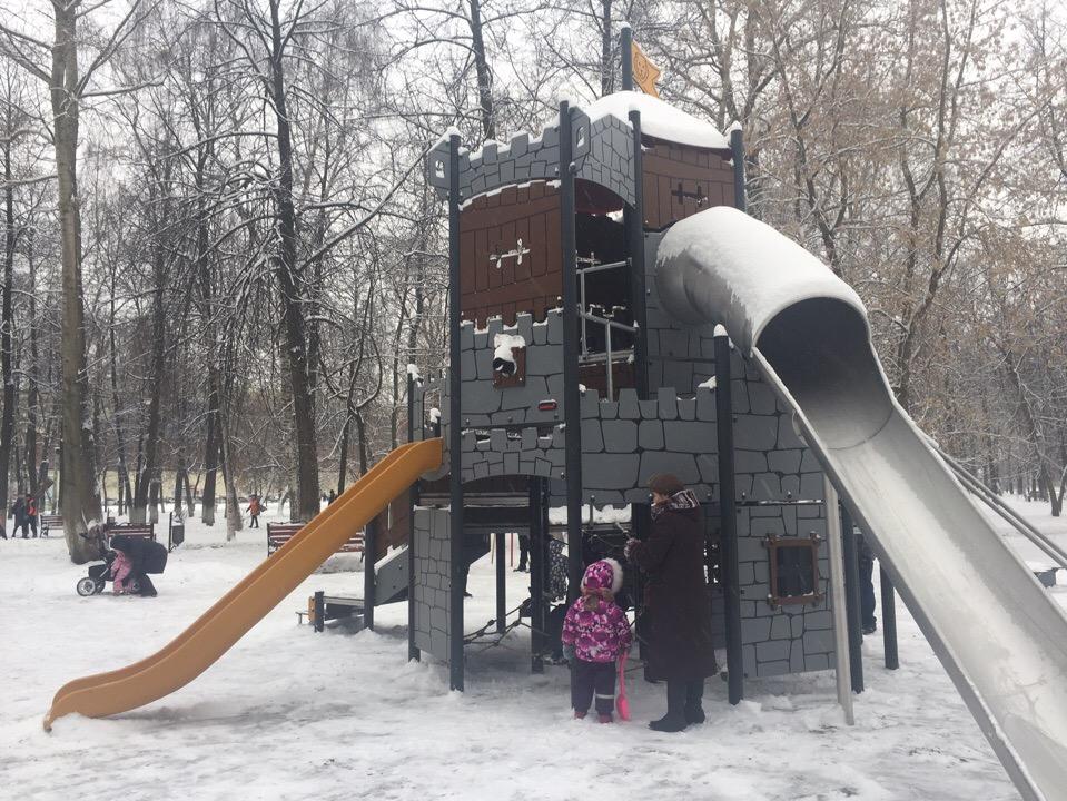 В Бутусовском парке в Ярославле установили новый городок