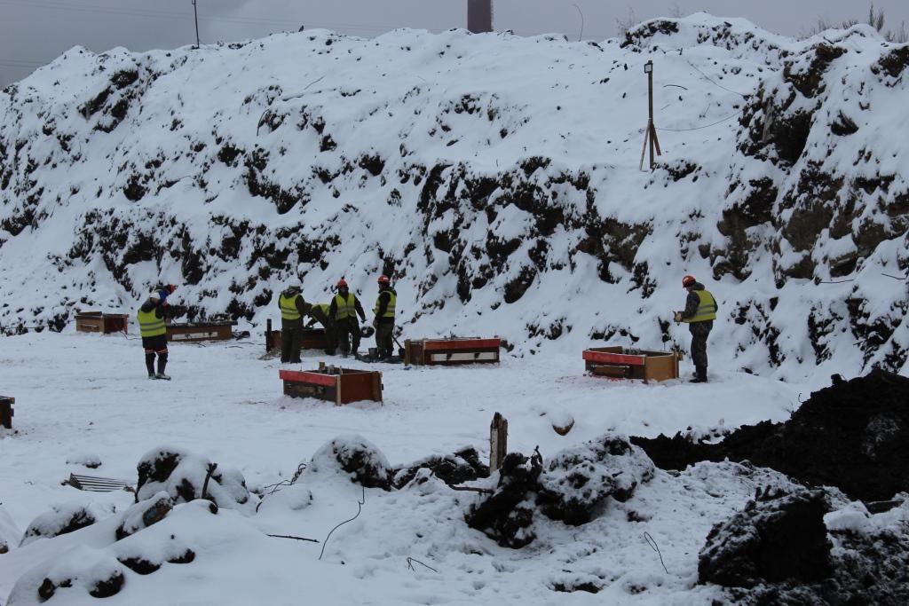 На полигоне «Скоково» завершился первый этап строительства комплекса по дроблению отходов