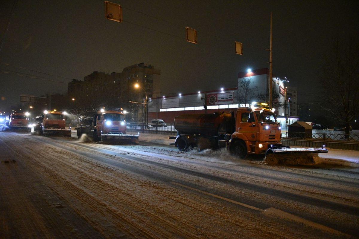 За сутки в Ярославле выпало 16 сантиметров снега
