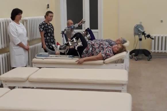 В областном госпитале ветеранов войн после ремонта открылось отделение медицинской реабилитации