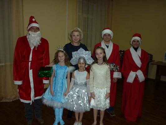 В Рыбинске состоялся выпускной «Школы Дедов Морозов»