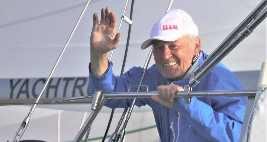 Ярославский яхтсмен Игорь Зарецкий во время кругосветной гонки причалил в австралийском Олбани