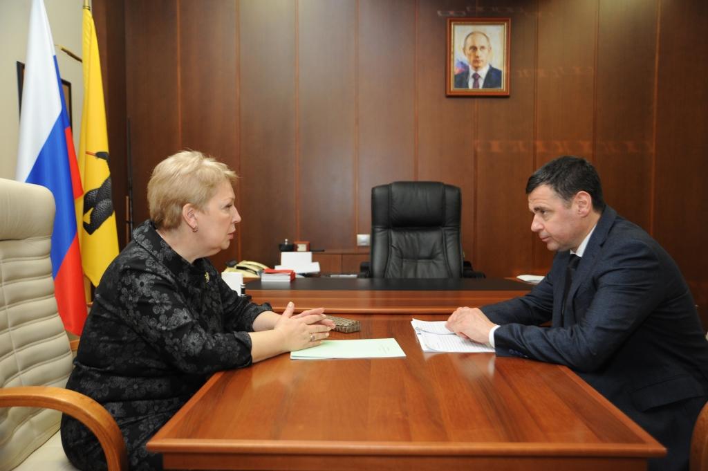 Министр просвещения высоко оценила реализацию национальных проектов в сфере образования на территории региона
