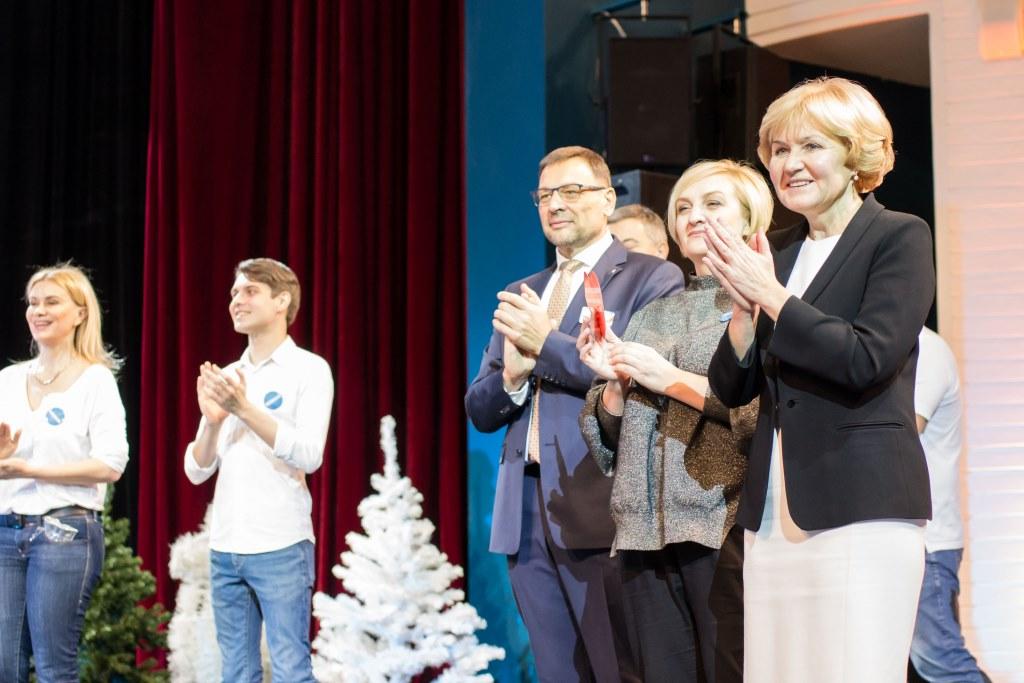 В Ярославле вице-премьер Ольга Голодец встретилась с участниками благотворительного спектакля: фото