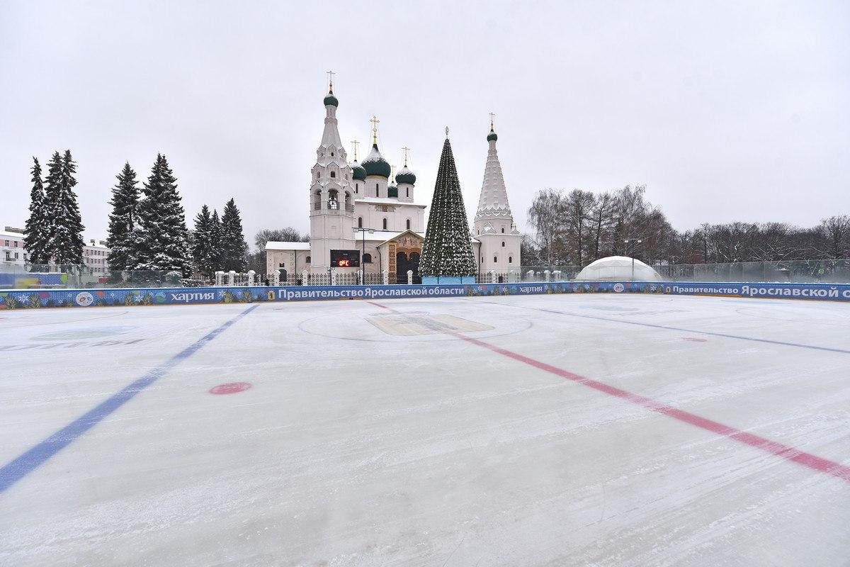 В центре Ярославля в пятницу пройдет красочное ледовое шоу