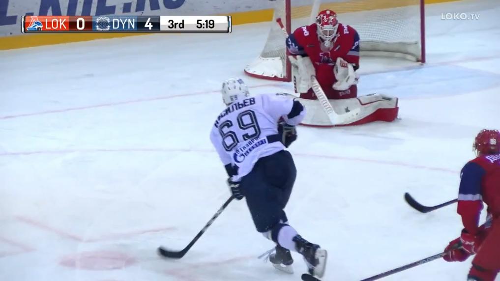 «Локо» на своем льду всухую проиграл «Динамо» из Санкт-Петербурга