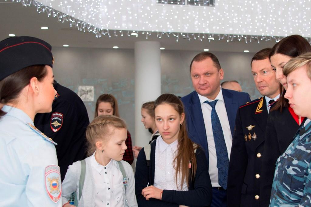 В Ярославле состоялся пятый областной форум отрядов правоохранительной направленности «Юный друг полиции»