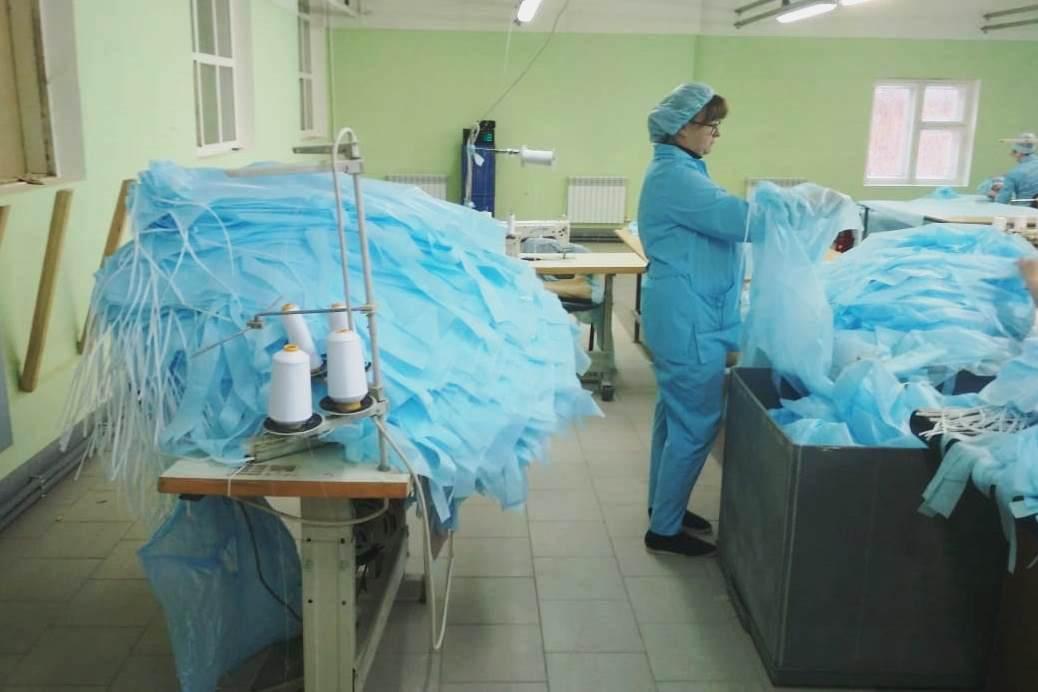 В Ярославской области создается производство одноразовых медицинских изделий из нетканых материалов