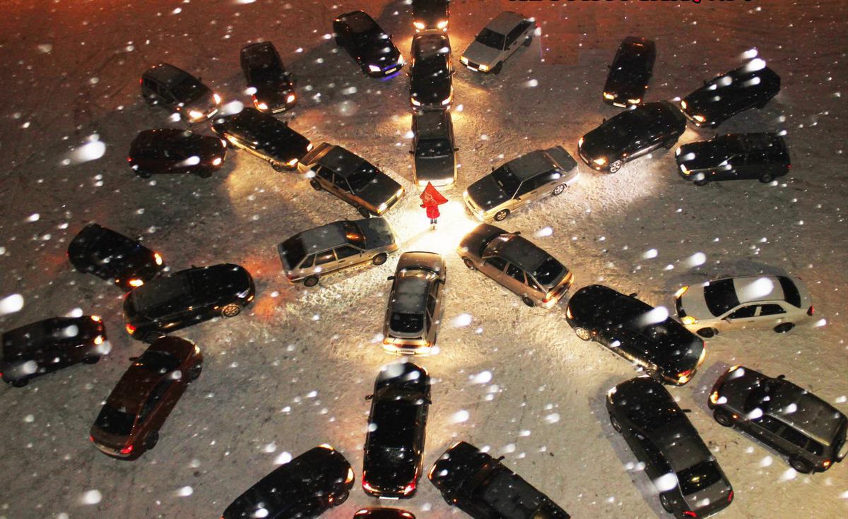 Ярославские водители готовят грандиозный новогодний флешмоб