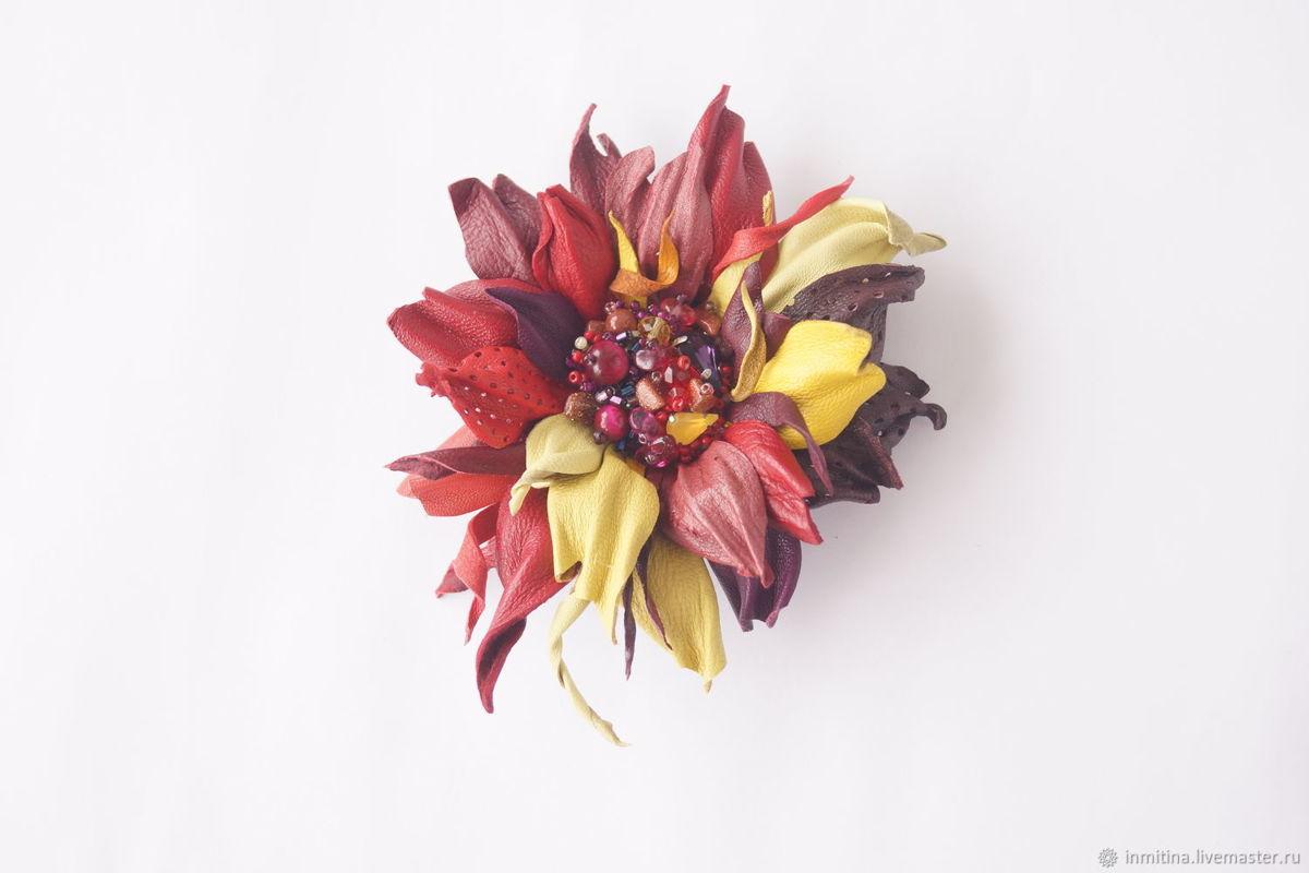 Цветы для зимней сказки. Работы ярославны представлены на крупнейшей выставке Европы