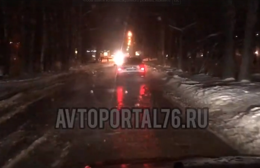 В Ярославле затопило Ленинградский проспект