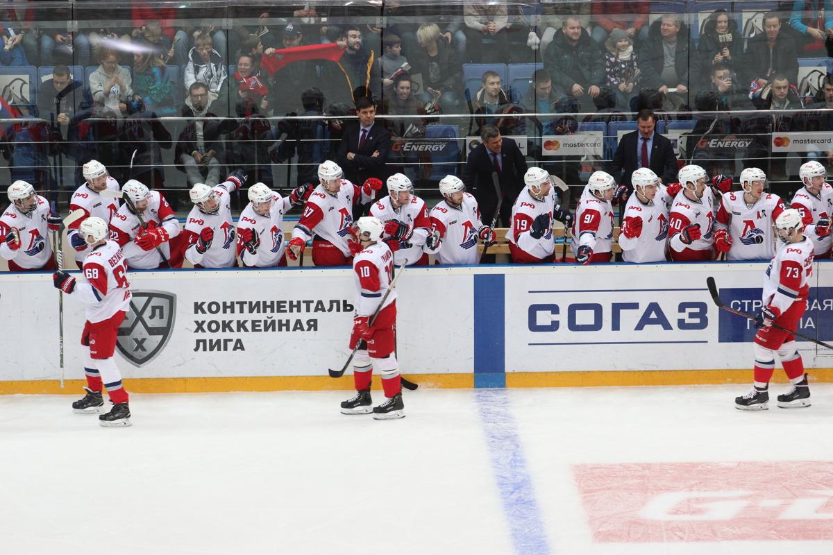 «Локомотив» переиграл «Салават Юлаев» в овертайме