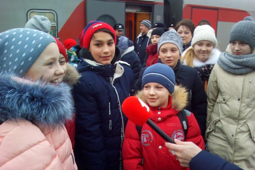 Более 30 ярославских ребят отправились на кремлевскую елку
