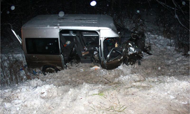 В Ярославской области возбудили дело по факту смертельного ДТП с микроавтобусом