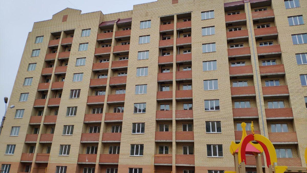 В Дзержинском районе Ярославля завершено строительство еще одного проблемного дома