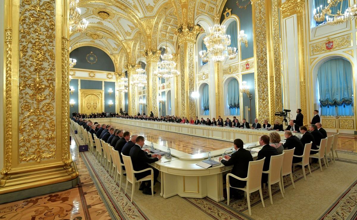 Дмитрий Миронов принял участие в заседании Госсовета РФ