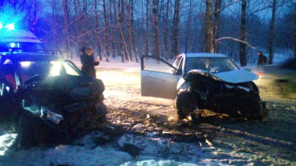 В крупном ДТП в Ярославле пострадали три человека